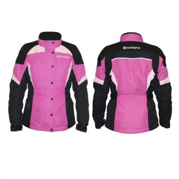 Куртка квадроциклетная утеплённая женская CFMOTO FASH JACKET розовая