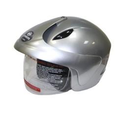Открытый шлем CFMOTO V520 глянцевый серый